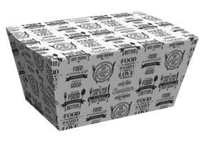 fastfood rasia takeaway-rasia takeaway pikaruoka pikaruokapakkaus kartonkirasia kartonkikotelo