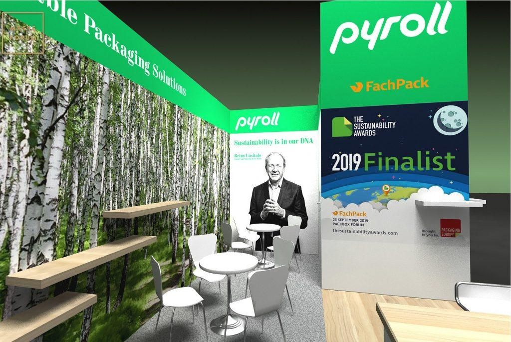 pyroll flowpap fachpack 2019 sustainability