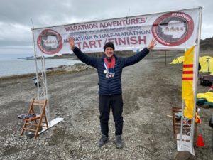 pyroll triple8quest marathon lankila run maraton half-marathon 8continents 8days running event Antarktis rakkofani